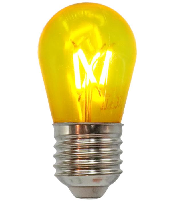 Lyskæde-sæt med kulørte LED-pærer