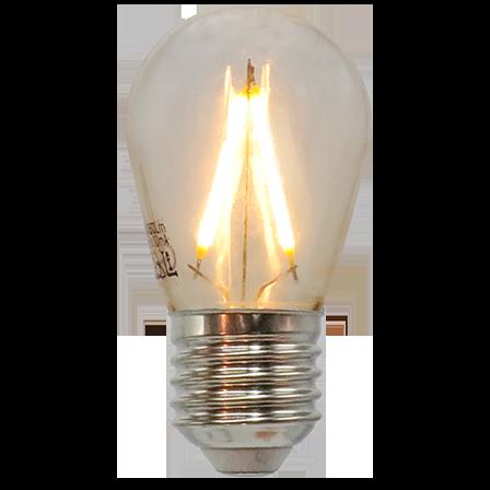 Lyskæde-sæt med varmhvide LED-pærer