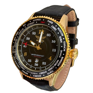 Aviator  Aviator F-series Leather Gold