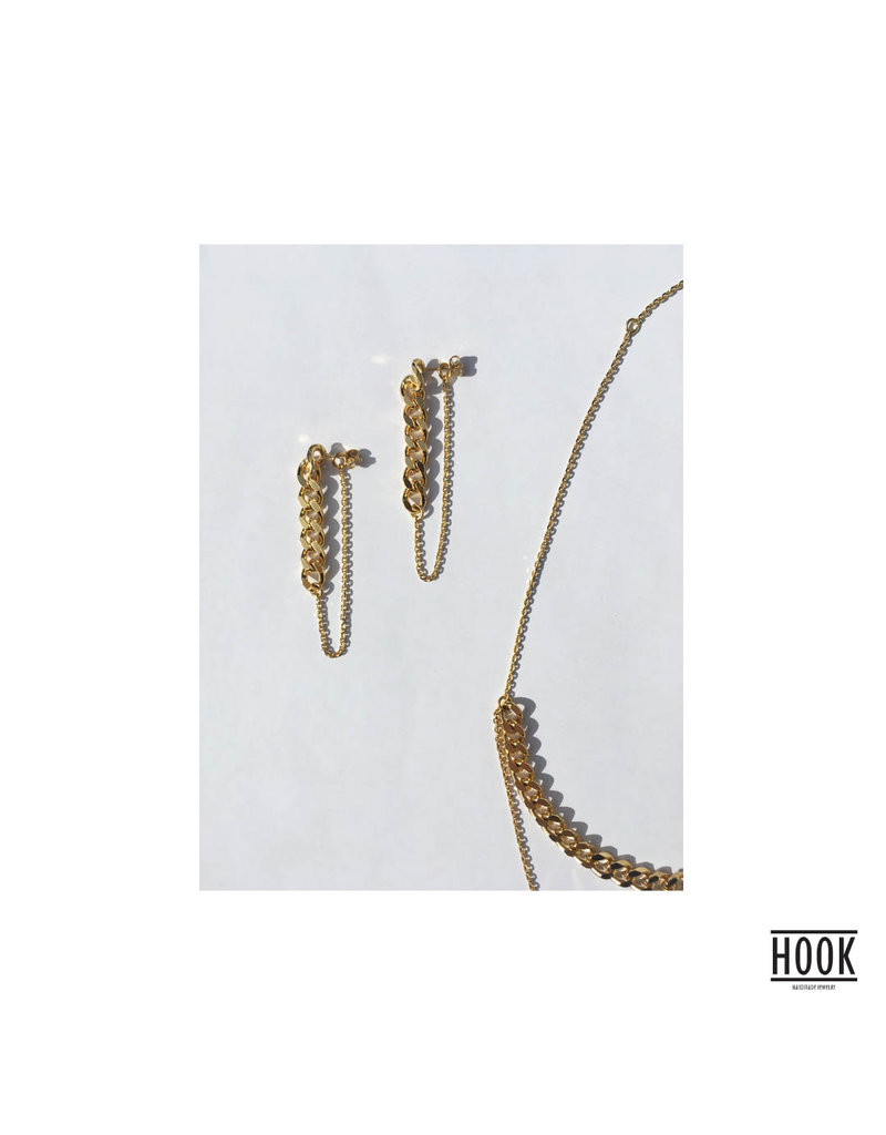 THE CHAINS STATEMENT EARRINGS
