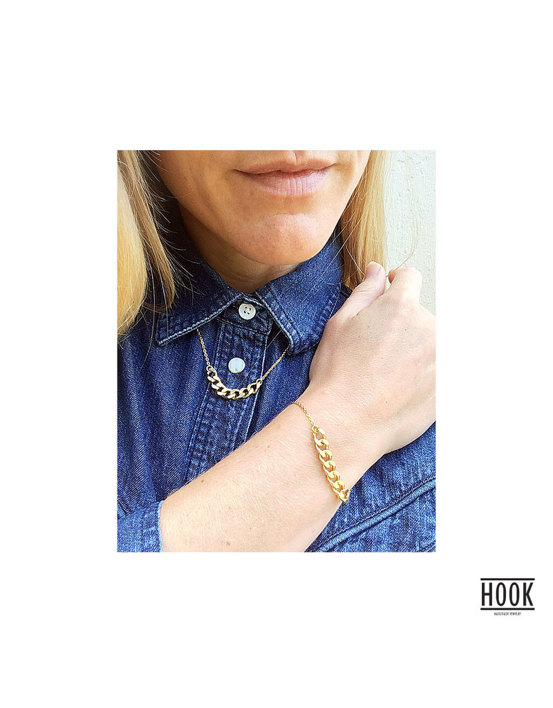 THE CHAINS THIN BRACELET
