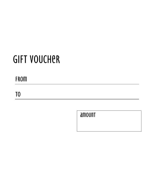 The Gift Vouchers