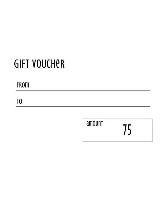 The €75 Voucher