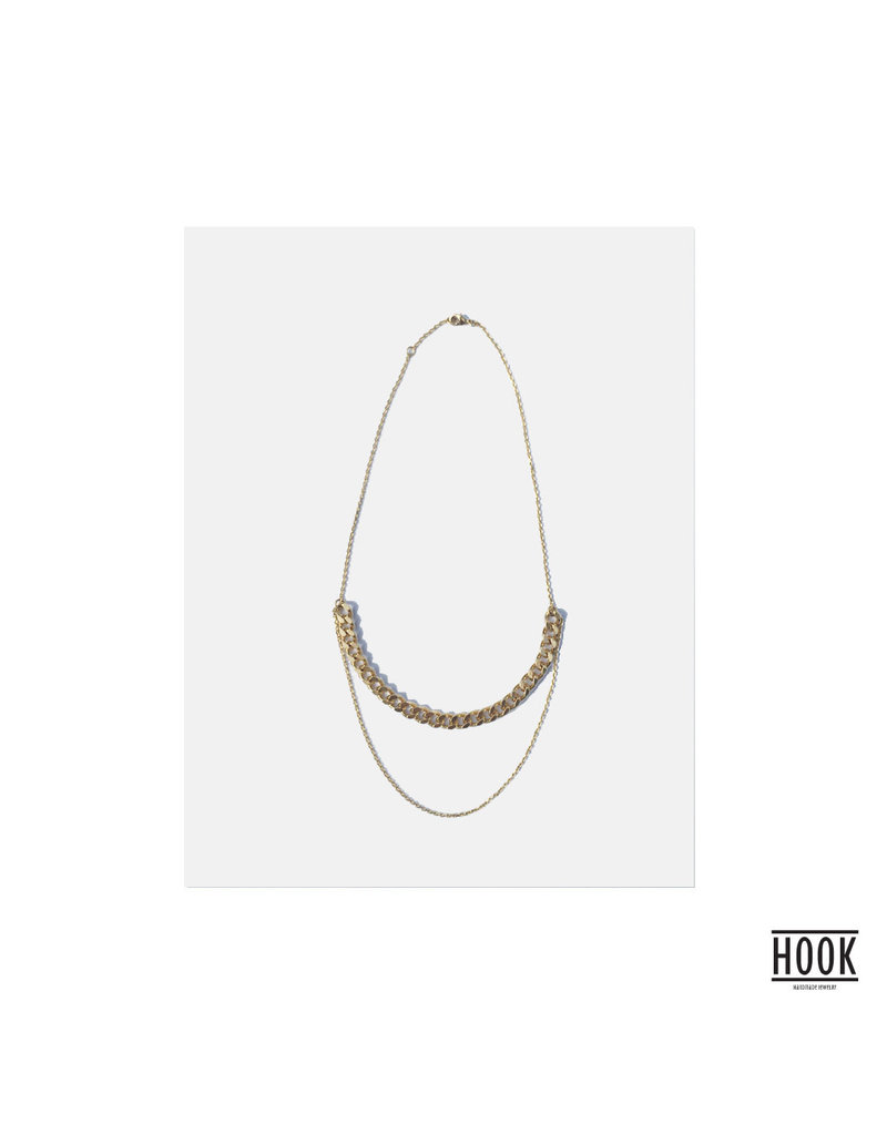 THE CHAINS STATEMENT NECKLACE