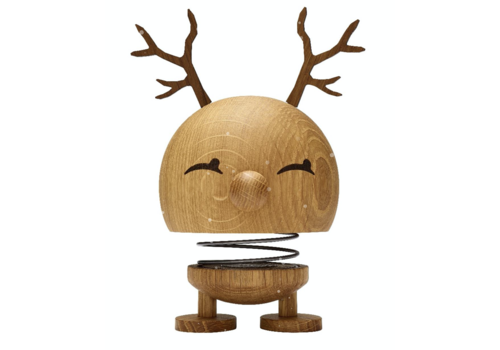 Hoptimist Large Reindeer Bimble - Oak