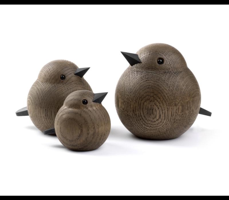Medium Sparrow smoked oak