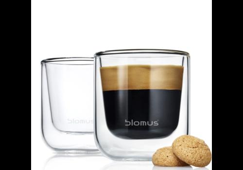 Blomus NERO Espressoglazen (set van 2)