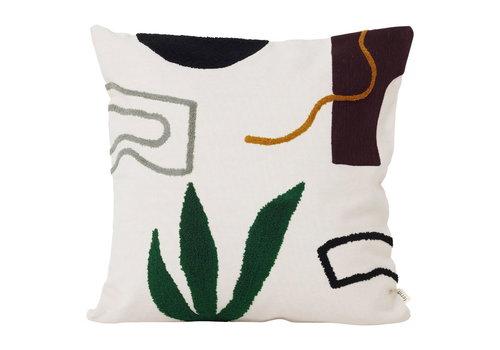 Ferm Living  Mirage cushion cacti