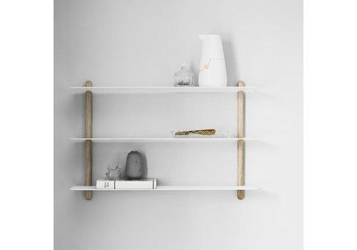 Gejst Nivo A shelf oak/white