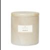 Blomus Marmeren geurkaars Frable - Mora