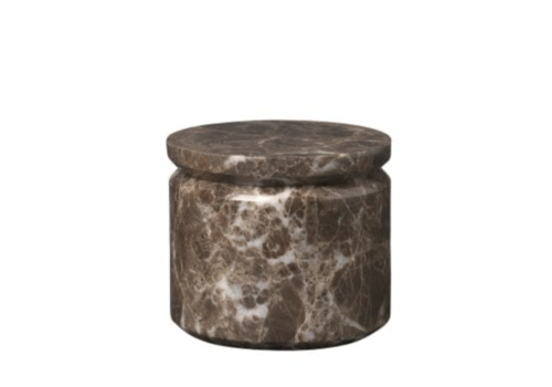 Blomus Marmeren bewaarbox PESA - Donkerbruin