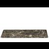 Blomus Marmeren serveerbord PESA - Donkerbruin