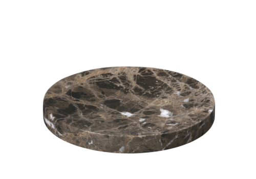 Blomus Marmeren tray - M - PESA - Donkerbruin