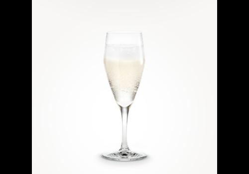 Holmegaard Perfection Champagne glazen - 4 + 2 GRATIS!