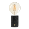 Yellow Lemon Tree ORBIS Lamp zwart marmer