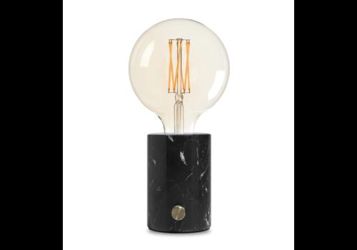 Edgar Home ORBIS Lamp zwart marmer