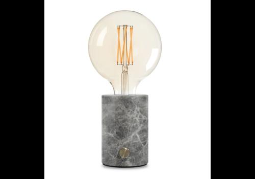 Edgar Home ORBIS Lamp grijs marmer