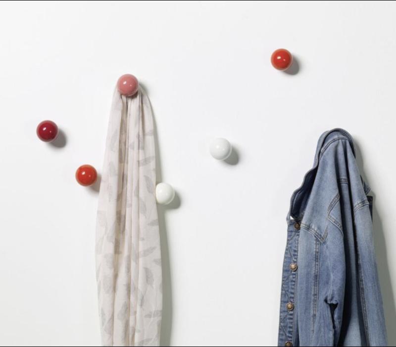 Coat Dots - Red (set van 3)