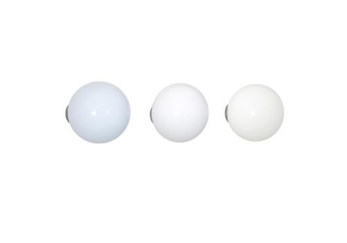 Vitra Coat Dots - White (set van 3)