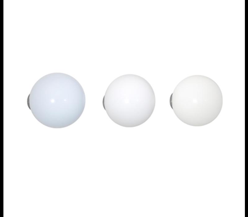 Coat Dots - White (set van 3)