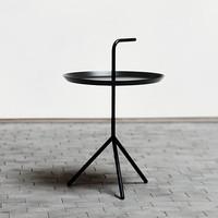 Don't leave me table - black