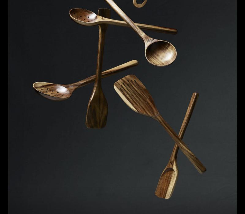 Wooden skimmer spatula xl