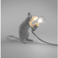Mouse Lamp Sitting