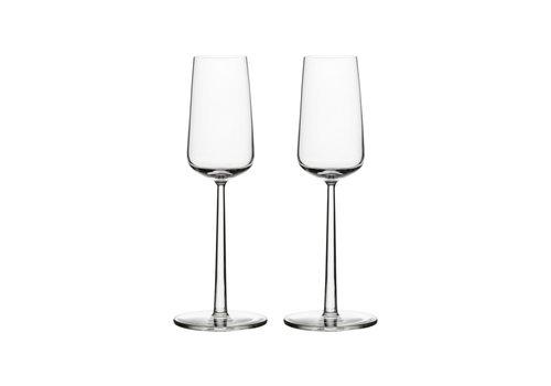 Iittala  Essence champagneglazen set van 2