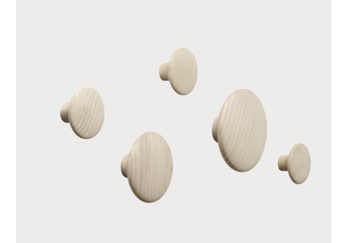 Muuto Dots wood - set of 5