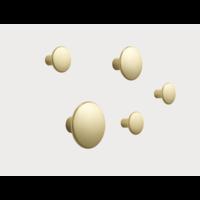 Dots Metal Brass - set of 5