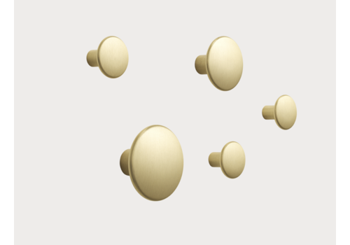 Muuto Dots Metal Brass - set of 5