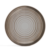 Ethnicraft Valet Tray Cream Circles glass