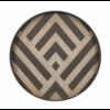Ethnicraft Valet tray -  Graphite Chevron - wood