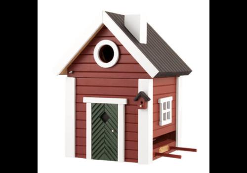 Multiholk Vogelhuisje - Red Cottage