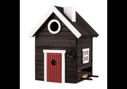 Multiholk Vogelhuisje - Black Cottage