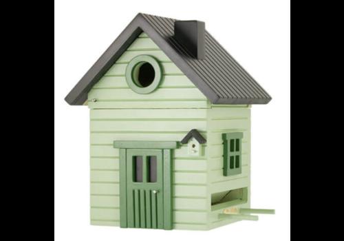 Multiholk Vogelhuisje - Pale Green Cottage