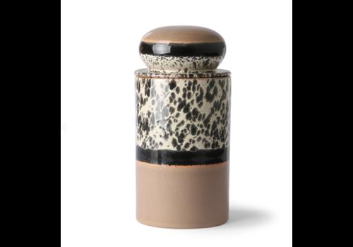 HKliving 70s ceramics: storage jar