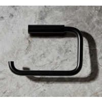 Toiletrolhouder zwart MODO
