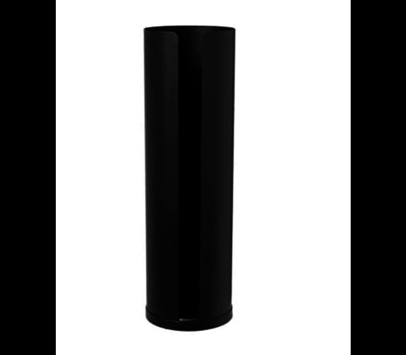 Nexio - Reserve toiletrolhouder zwart