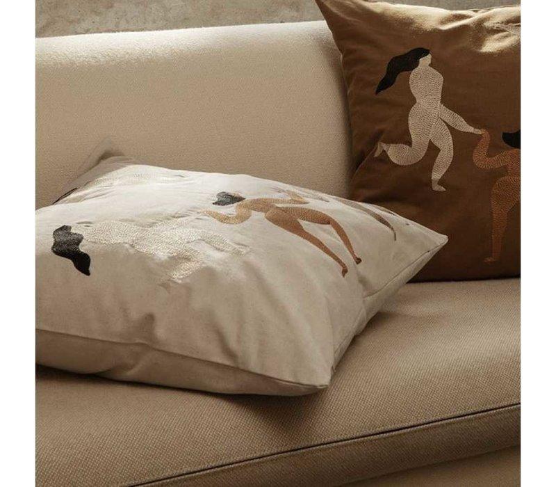 Free cushion naturel
