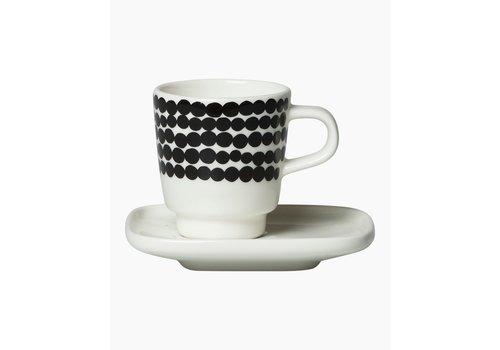 Marimekko Oiva Espresso cup & plate