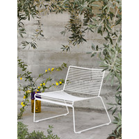 Hee Lounge Chair Wit