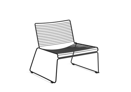 Hay Hee Lounge Chair Zwart