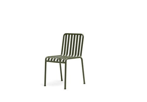 Hay Palissade Chair Olijfgroen