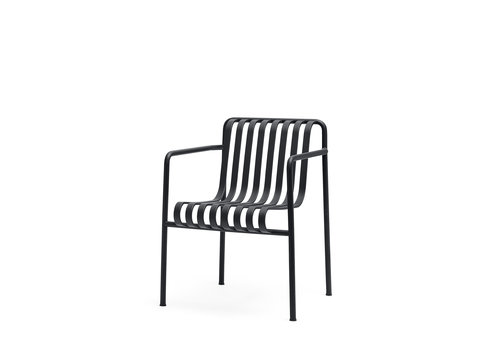 Hay Palissade Dining Armchair Antraciet