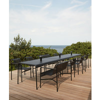 Palissade Dining Armchair Antraciet