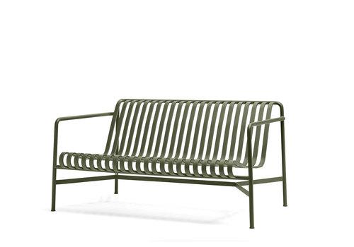 Hay Palissade Lounge Sofa Olijfgroen
