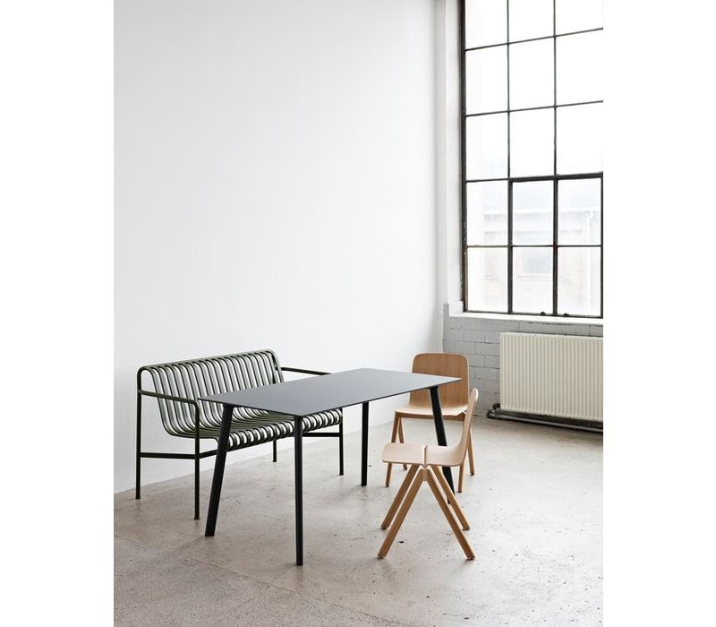 Palissade Dining Bench Antraciet