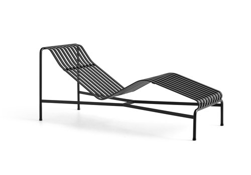 Hay Palissade Chaise Longue Antraciet