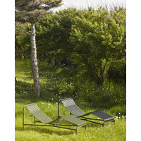 Palissade Chaise Longue Antraciet